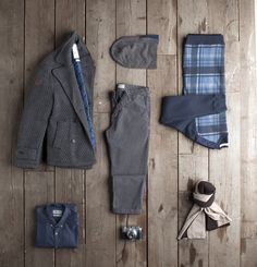 Outfit grid - Winter essentials