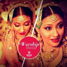 Worship Salon gives you an awesome experience and look perfect for the wedding day. Worship Salon offer you best bridal makeup Delhi with beauty techniques to give the clients a great experience.