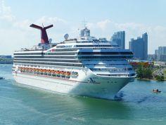 Carnival Conquest setting sail out of Miami   #cruisingdave #cruise #cruising #carnivalcruise #cruiseship #bahamas #caribbean #travel #vacation #ship #cruiseships #ocean #sea #clouds #beach #tropical #island #summer #cruisegram #carnivalconquest #florida #miami #carnivalbreeze #carnivalcruiseship #carnivalcruiseships #cruiselife