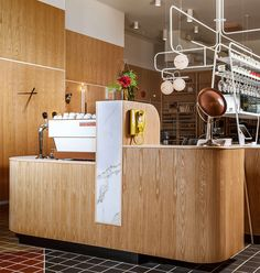 Osteria Savio Volpe / Design:  The restaurant is a synthesis of what we call Italian Farmhouse Modern. The  design was strongly inspired by three icons of It...