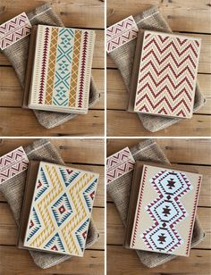 Navajo inspired note cards by Hero Designs {via Paper Crave}