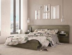 Διπλό κρεβάτι LONDON με ενσωματωμένα κομοδίνα | Έπιπλα Τηνιακός