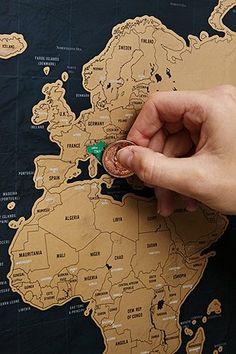 Deluxe Weltkarte