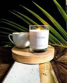 Loving scented candles?  Please go check out Yoshi's products on www.yoshi.co.za❤️👆 Scented Candles, Candle Jars, V60 Coffee, Yoshi, Coffee Maker, Check, Beauty, Instagram, Products