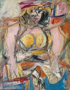 De Kooning - Woman IV - 1952