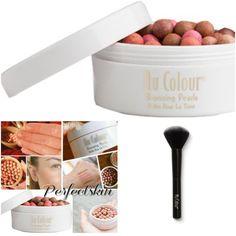 Enlarge image to see full image Bronzing Pearls, Sagging Skin, Collage Maker, Skin Care Tips, Anti Aging, Hair Beauty, Nu Skin, Bossbabe, Makeup