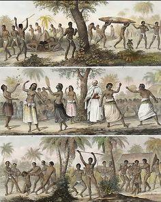 Combat of Tonga Women, Girlish Sports on the Tonga Islands