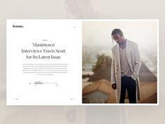 music-details by Ruslan Siiz - Dribbble Web Ui Design, Branding Design, Graphic Design, Minimalist Web Design, Music Page, Blog Layout, Ui Web, Web Design Inspiration, Interactive Design