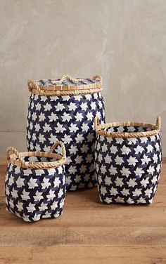 Starry Baskets #anthrofave