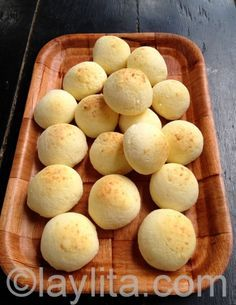 Pan de yuca or cheese bread recipe. Learned how to make this from a friend. Best bread recipe ever! Best Bread Recipe, Bread Recipes, Cooking Recipes, Colombian Food, Colombian Recipes, Comida Latina, Sem Lactose, Cheese Bread, Bread Pizza