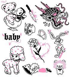 Small Finger Tattoos, Small Tattoos, Tattoo Design Drawings, Cute Drawings, Mini Tattoos, Cute Tattoos, Sharpie Tattoos, Cute Little Tattoos, Birthday Card Drawing