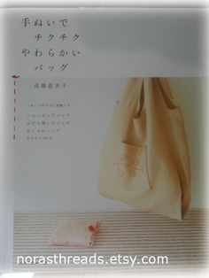 Japanese Sewing Pattern Book-Handmade Sewing Bags-Sewing Pattern Book