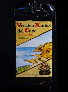 Caffo Vecchio Amaro del Capo is full-bodied and boozy, but nicely balanced.