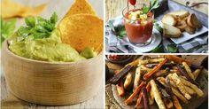 Vediamo come fare degli snacks alternativi per un aperitivo con meno di 100 calorie.