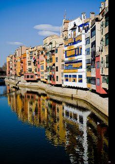 "Girona, Catalonia, Spain -- ""Mirror"" by Carlos Rodriguez"