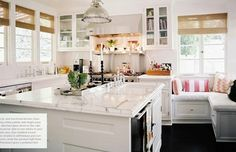 I can imagine all kinds of terrific conversations with people as I cook in this kitchen!