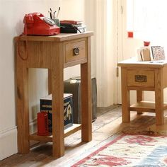 Salisbury Petite Oak Telephone Table 596.094 Quality wooden furniture at great low prices from PineSolutions.co.uk. Get Free Delivery and Exchanges on all orders. http://www.MightGet.com/january-2017-11/salisbury-petite-oak-telephone-table-596-094.asp