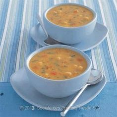 Chickpeas and Tomato Soup Recipe