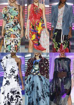 Paris Fashion Week – Spring/Summer 2014 – Print Highlights Part 2 catwalks