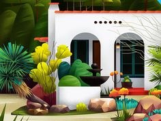 Home - 14 by muhammed sajid - Dribbble