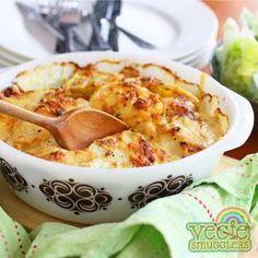 Potato (+sweet potato & onion) bake. Easy. Tasty. Non-controversial.