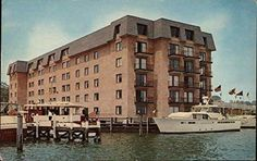 The Statler Hilton Inn @ 80 Compromise St in Annapolis, MD... The hotel was built in 1967... It's now the Annapolis Marriott Waterfront...