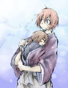 ruroken - Kenshin and Kenji