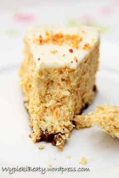 Recipes: Lime & coconut cake, lemon cream cheese icing and lime curd Carrot Cheesecake, Baklava Cheesecake, Sweet Desserts, Delicious Desserts, Dessert Recipes, Coconut Lime Cake, Lemon Cream Cheese Icing, Polish Desserts, Icing Ingredients