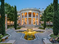 You can now own 'The Dallas White House' for $15M