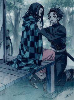 Manga Anime, Fanarts Anime, Anime Demon, Otaku Anime, Anime Characters, Anime Kiss, Fictional Characters, Anime Siblings, Anime Couples