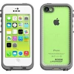 Lifeproof iPhone 5c Fre Case - Carrying Case - Retail Packaging - White/Clear on InStores
