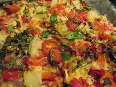 Tinskun keittiössä: Vähähiilihydraattinen pizzapohja
