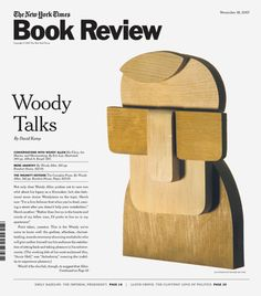 The New York Times Book Review. Woody Talks