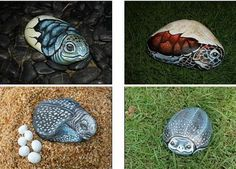 picture/images painted on sandstone | Can you imagine those vivid animal on just a painting on stone? What ...