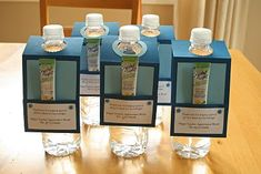 """Teacher Appreciation Water Bottles - I did these for Alayna's specials teachers with a note that said """"Thanks for adding some FLAVOR to my day.""""  They all loved it and I loved being able to do something for all of them (9!) without breaking the bank!"""
