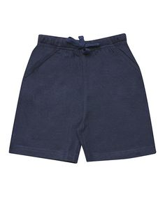 Look what I found on #zulily! Navy Bermuda Shorts - Infant, Toddler & Boys #zulilyfinds