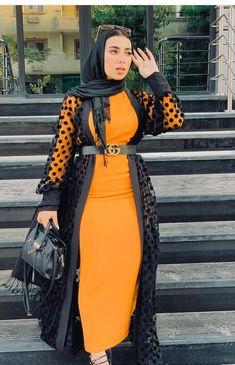 Muslim Fashion 636203884846944709 - Source by americanmuscleb Modest Outfits Muslim, Modest Fashion Hijab, Hijab Style Dress, Modern Hijab Fashion, Hijab Fashion Inspiration, Muslim Dress, Abaya Fashion, Muslim Fashion, Kimono Fashion