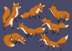 Borja Montoro Character Design: Looking for a fox