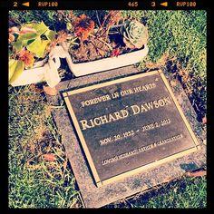 Richard Dawson, Westwood Memorial