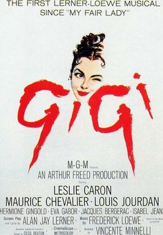 Gigi. Weary of the conventions of Parisian society, a rich playboy and a youthful courtesan-in-training enjoy a platonic friendship, but it may not stay platonic for long.