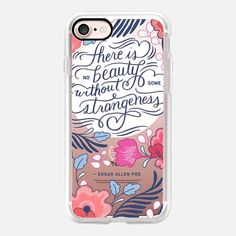 Casetify iPhone 7 Case and Other iPhone Covers - Beauty and Strangeness by Paper Raven Co. | #Casetify