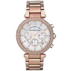 ccdf64714c0f7 Michael Kors Parker Rose Gold Tone Watch Women s Watches