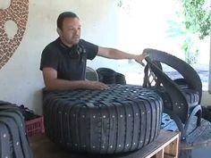 Mestre Divas faz do pneu uma obra de arte - YouTube