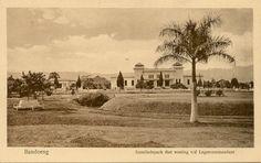 Bandoeng 1900-1920 : Insulindepark met het woning v/d Leger Commandant