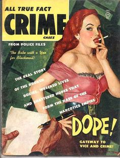 All True Fact Crime Cases, Pulp Magazine by kocojim, via Flickr