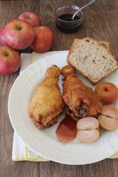 La Trappola Golosa  : Pollo fritto con glassa al vino e miele e pickles ...