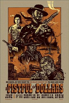 A Fist Full of Dollars Poster 1