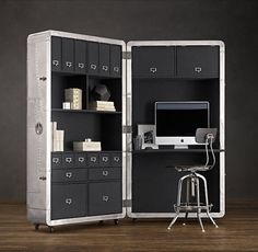 Blackhawk secretary trunk workspace