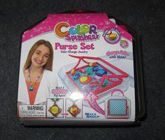 Evan and Lauren's Cool Blog: 9/9/12: Flower Power Orbeez and Color Splasherz Purse Set