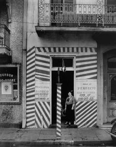 Walker Evans, Barber Shop, New Orleans, 1935